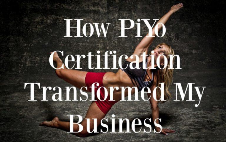 piyo certification transformed