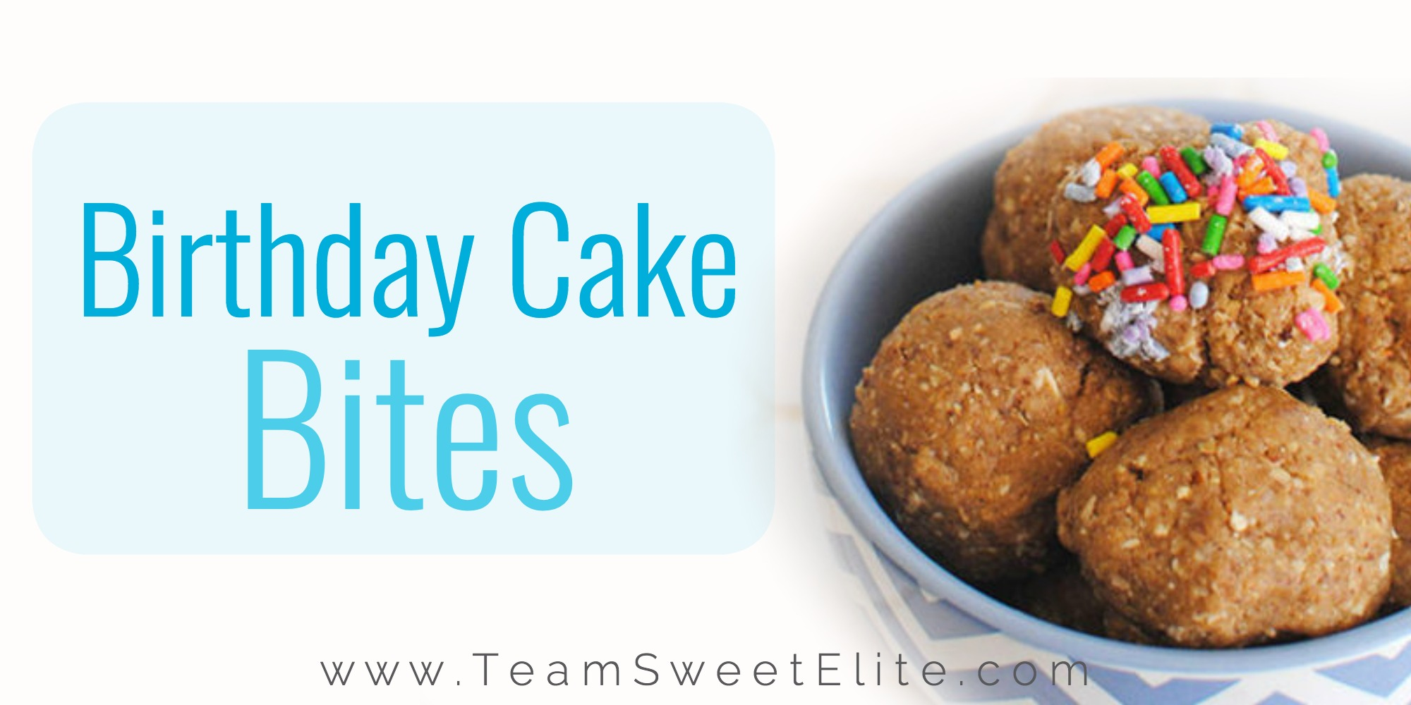 Shakeology Recipe Birthday Cake Energy Balls
